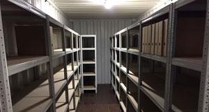 Stockage d'archive à Geneve